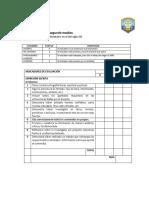Pauta de evaluación informe Tecnología  segundo medios