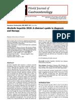 Alcoholic Hepatitis 2010