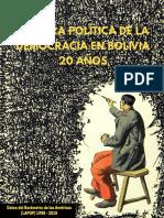 Cultura Politica de La Democracia en Bolivia