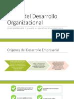 Teoría del Desarrollo Organizacional expo