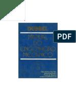 MANUAL DO ENGENHEIRO MECÂNICO VOLUME 1