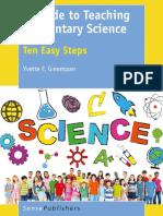 Yvette F. Greenspan (Auth.)-A Guide to Teaching Elementary Science_ Ten Easy Steps-SensePublishers (2016)