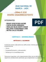 Diapositivas Norma E030
