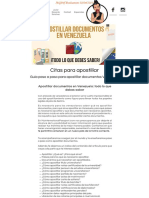 apostillar documentos legales en venezuela
