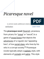 Picaresque Novel