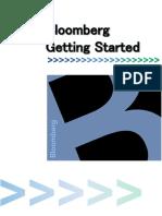 Getting Started-Bloomberg Basics