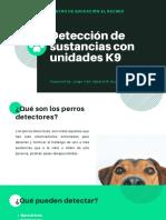 Presentación K9 detección