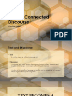 Lesson Text as Connected Discourse