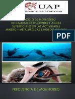 Protocolo de Monitoreo de Calidad de Efluyentes y Aguas Superficialesw en Las Actividades Mineros - Metalurgicas e Hidrocarburos