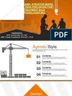 Silhouette of Construction Worker Industry PowerPoint Templates