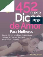 452 Super Dicas de Amor Para Mulheres