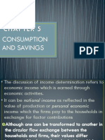 Chapter 5 Consumption and Savings