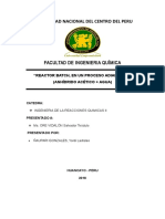 Informe de Reactor Batch Adiabatico