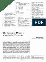 The Economic Design of  Mixer-Set tler Extractors