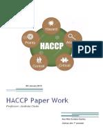 HACCP Work