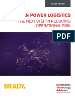 European Power Logistics – The next step in reducing operational risk