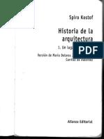KOSTOF. S. Historia de La Arquitectura. 1999. Cap. 3. El Origen de La Ciudad. La Arquitectura de en Asia Occidental