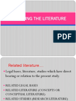 4-Reviewing the Literature