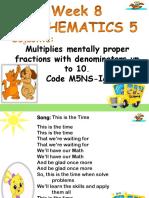 cot in math 5