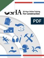Osha 30 Hr Outreach Study Guide