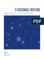 Pathways to Sustainable Investing