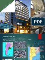 Analisis bioclimatico del Hospital Finchietto