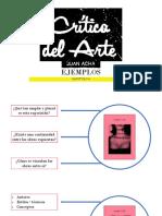 Crítica del Arte de Juan Acha cap6