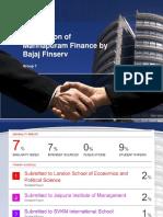 Bajaj Finserv and Manappuram Finance Acquisition Idea
