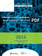 Relatório Estatístico Anual 2016
