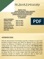 Presentation of Communication and Advance Technology