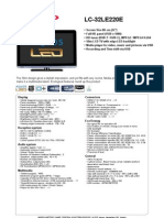 DS Datasheet LC32LE220E Sp Eq