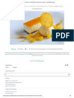 Passion Fruit & White Chocolate Cheesecake - Great British Chefs