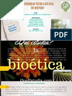 La Aplicación de La Bioética en La Agricultura