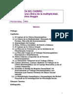 Libro Golcalvez. Arqueologia Del Cuerpo. Montevideo. 139 Pags