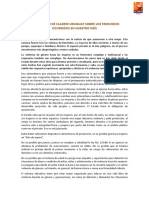 DECLARACIÓN DE CLADEM URUGUAY SOBRE LOS FEMINICIDIOS