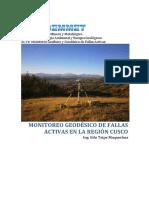 Monitoreo de Fallas Cusco