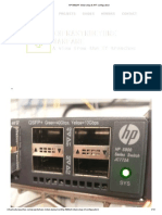 HP 5900AF Initial Setup & IRF Configuration