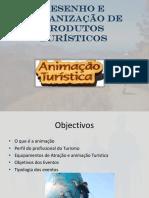 Desenho e Organizacao de Produtos Turisticos