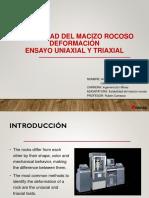 Macizo Rocozo Ensayo Triaxial