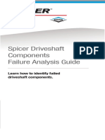 Spicer Driveshaft Components Failure Analysis Guide