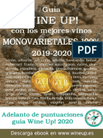 Guía de vinos monovarietales Wine Up 2019-2020 y anticipo de la guía Wine Up! 2020