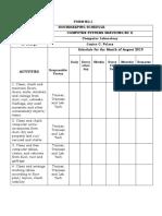 CSS NC II - 12 Forms