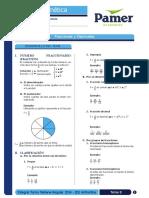 Aritmética 8 Fracciones y Decimales