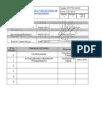 Evaluacion de Proveedores - Rev 2