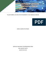 ACTIVIDAD 1 IDENTIFICACION Y ANALISIS DE CIRCUITOS INTEGRADOS Y COMPUERTAS LOGICAS