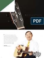 2018 Cort Acoustic Catalog Digital