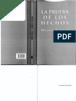 267 - La Prueba de Los Hechos - Michele Taruffo