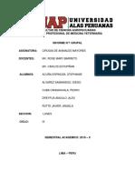 Informe 1 Avance