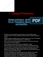 Global Prehistory