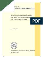 Interconnectedness of Banks and NBFCs, Karunagaran, RBI.pdf